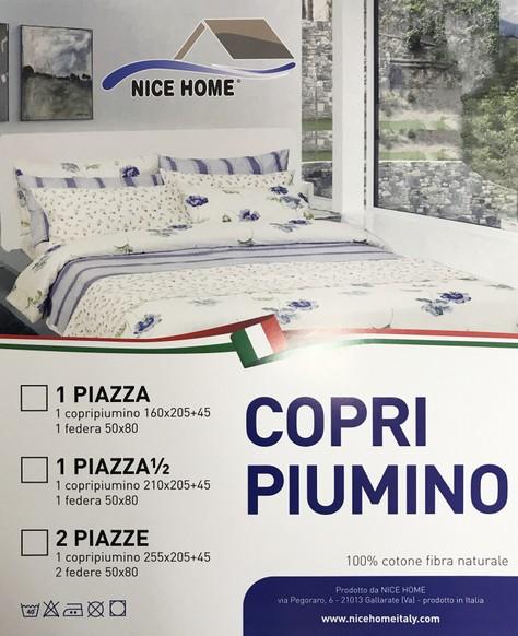 Piumino 1 Piazza.Copri Piumino 1 Piazza 1 2 Nice Home Italy
